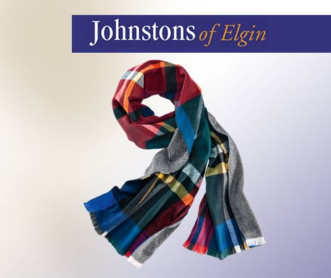 Strickaccessoires von Johnstons of Elgin