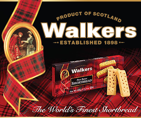 Shortbread von Walkers