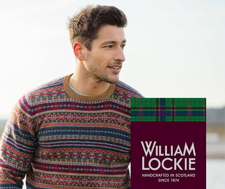 Strickwaren von William Lockie